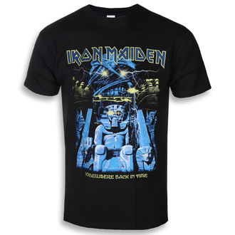 tricou stil metal bărbați Iron Maiden - Back In Time Mummy - ROCK OFF, ROCK OFF, Iron Maiden