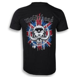 tricou stil metal bărbați Motörhead - British Warpig & Logo - ROCK OFF, ROCK OFF, Motörhead