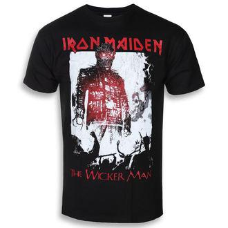 tricou stil metal bărbați Iron Maiden - The Wicker Man Smoke - ROCK OFF, ROCK OFF, Iron Maiden