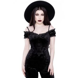 tricou stil gotic și punk femei - Agatha Bardot - KILLSTAR - KSRA001758