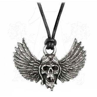 Pandantiv Colier Airbourne - Skull / Wings - ALCHEMY GOTHIC, ALCHEMY GOTHIC, Airbourne