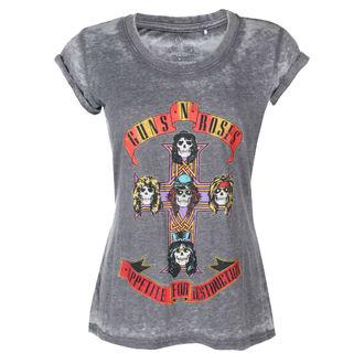 tricou stil metal femei Guns N' Roses - Appetite For Destruction BO - ROCK OFF, ROCK OFF, Guns N' Roses