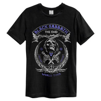 tricou stil metal bărbați Black Sabbath - Black - AMPLIFIED, AMPLIFIED, Black Sabbath