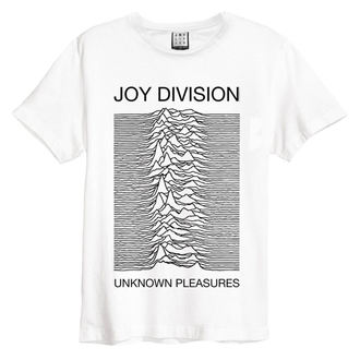 tricou stil metal bărbați Joy Division - Unknown Pleasures - AMPLIFIED, AMPLIFIED, Joy Division