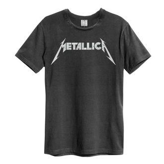 tricou stil metal bărbați Metallica - LOGO - AMPLIFIED, AMPLIFIED, Metallica