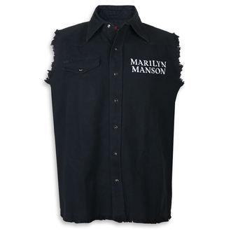 Cămașă fără mâneci (vestă) Marilyn Manson - Cross Logo - RAZAMATAZ, RAZAMATAZ, Marilyn Manson