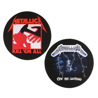 Pad Gramofon (set de 2pcs) METALLICA - KILL EM ALL - RIDE  THE  Lightening - RAZAMATAZ, RAZAMATAZ, Metallica