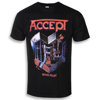 tricou stil metal bărbați Accept - METAL HEART 1 - PLASTIC HEAD, PLASTIC HEAD, Accept