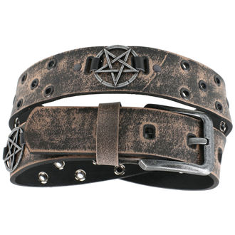 Curea Pentagram - brown, JM LEATHER
