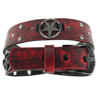 Curea Baphomet - red, JM LEATHER