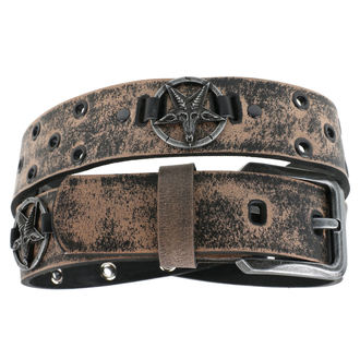 Curea Baphomet - brown, JM LEATHER