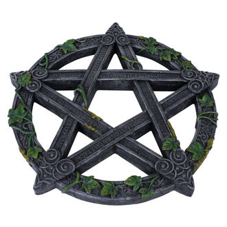 Decorațiune de perete Wiccan Pentagram Wall Plaque, NNM