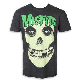 tricou stil metal bărbați Misfits - LARGE SKULL - PLASTIC HEAD, PLASTIC HEAD, Misfits