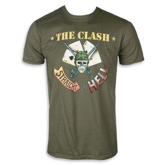 tricou stil metal bărbați Clash - STRAIGHT ACES - PLASTIC HEAD, PLASTIC HEAD, Clash