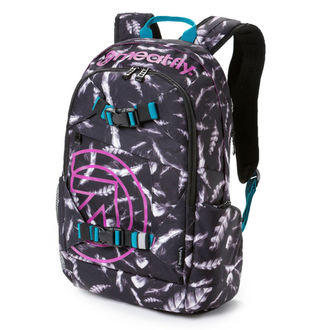 Rucsac MEATFLY - Basejumper 3 - M Feather Grayscale, MEATFLY