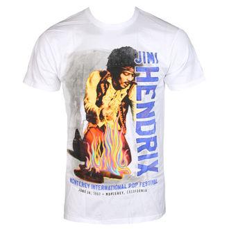 tricou stil metal bărbați Jimi Hendrix - RAINBOW GUITAR FIRE - BRAVADO, BRAVADO, Jimi Hendrix