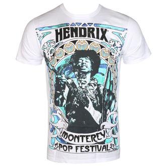 tricou stil metal bărbați Jimi Hendrix - MONTEREY '67 - BRAVADO, BRAVADO, Jimi Hendrix