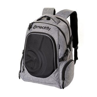 Rucsac MEATFLY - BLACKBIRD 2 - A - Heather Grey / Black, MEATFLY