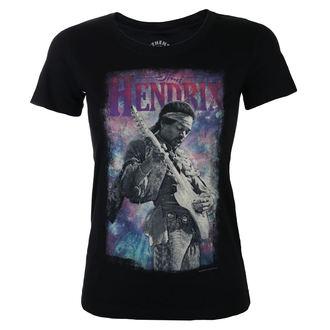 Tricou damă Jimi Hendrix - AUTHENTIC BURST - BLK - BRAVADO, BRAVADO, Jimi Hendrix