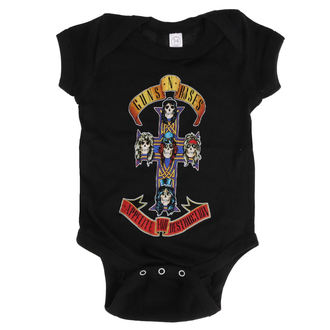 Body copii Guns N' Roses - AFD CROSS ONESIE - BLACK - BRAVADO, BRAVADO, Guns N' Roses