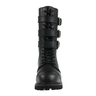 cizme piele unisex - Phantom Boots with Buckle - BRANDIT, BRANDIT