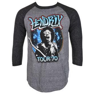 tricou stil metal bărbați Jimi Hendrix - AUTHENTC 70 TOUR - BRAVADO, BRAVADO, Jimi Hendrix