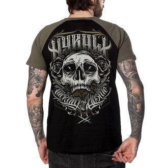 tricou hardcore bărbați - FUCKING HOSTILE KAKI - HYRAW, HYRAW