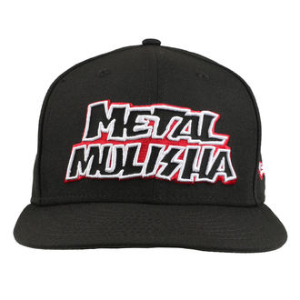 Șapcă METAL MULISHA - STICK UP BLK, METAL MULISHA