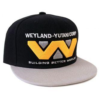 Șapcă ALIEN - WEYLAND-YUTANI CORP - BLACK / GREY - LEGEND, LEGEND, Alien - Vetřelec