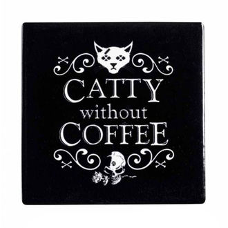 Stativ pahar  ALCHEMY GOTHIC - Catty Without Coffee, ALCHEMY GOTHIC