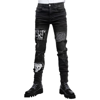 Pantaloni unisex DISTURBIA - Chaos, DISTURBIA