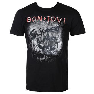 tricou stil metal bărbați Bon Jovi - SLIPPERY WHEN WET ALBUM - PLASTIC HEAD, PLASTIC HEAD, Bon Jovi