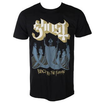 tricou stil metal bărbați Ghost - BLACK TO THE FUTURE - PLASTIC HEAD, PLASTIC HEAD, Ghost