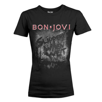 tricou stil metal femei Bon Jovi - SLIPPERY WHEN WET ALBUM - PLASTIC HEAD, PLASTIC HEAD, Bon Jovi