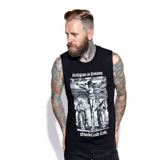 Maieu stil tank (unisex) BLACK CRAFT - Religion is Poison, BLACK CRAFT