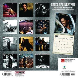 Calendar pentru anul 2019 BRUCE SPRINGSTEEN, NNM, Bruce Springsteen