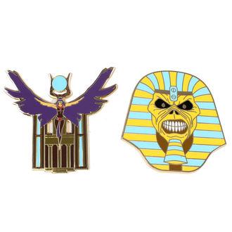 Insignă Iron Maiden - Legacy of the Beast - Trooper Pharaoh & Aset, Iron Maiden
