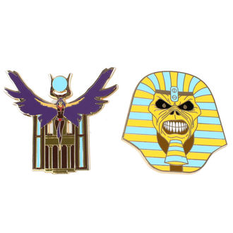 Insignă Iron Maiden - Legacy of the Beast - Trooper Pharaoh & Aset, NNM, Iron Maiden