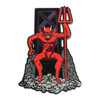 Insignă Iron Maiden -Legacy of the Beast - The Beast, NNM, Iron Maiden