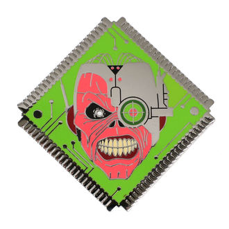 Insignă Iron Maiden - Legacy of the Beast - Eddie, NNM, Iron Maiden