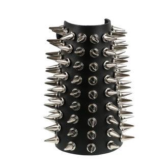 Brăţară cu crampoane 9, BLACK & METAL