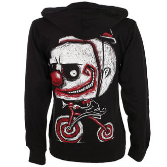 hanorac cu glugă unisex - Creep The Clown - Akumu Ink, Akumu Ink