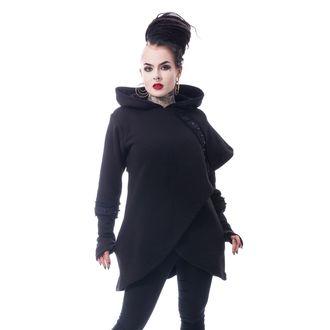 hanorac cu glugă femei - DARK CAPE - CHEMICAL BLACK, CHEMICAL BLACK