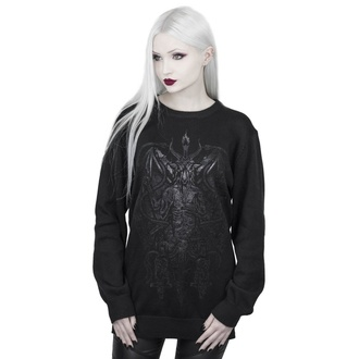 Pulover de damă KILLSTAR - Dark Prince Knit - BLACK - KSRA001604