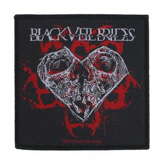Petic Black Veil Brides - Skull Heart - RAZAMATAZ, RAZAMATAZ, Black Veil Brides