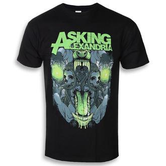 tricou stil metal bărbați Asking Alexandria - Teeth - ROCK OFF, ROCK OFF, Asking Alexandria