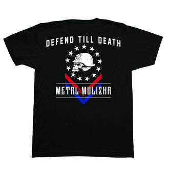 tricou de stradă bărbați - DEFEND - METAL MULISHA, METAL MULISHA