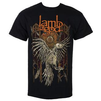 tricou stil metal bărbați Lamb of God - Crow - ROCK OFF, ROCK OFF, Lamb of God