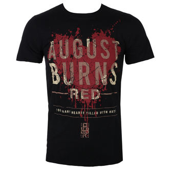 tricou stil metal bărbați August Burns Red - Heart Filled - ROCK OFF, ROCK OFF, August Burns Red