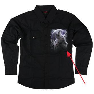 cămaşă bărbați cu lung maneca SPIRAL - WOLF SOUL - DETERIORATĂ, SPIRAL